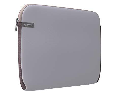 AmazonBasics Laptop-Schutzhülle,13,3 Zoll, Grau