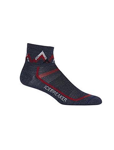 Icebreaker Chaussettes multisports Mini pour homme M Fathom Heather/Rocket