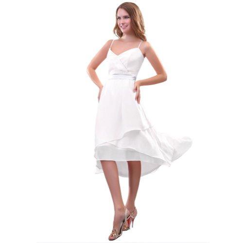 Lemandy - Robe -  Femme Custom-made Size Blanc