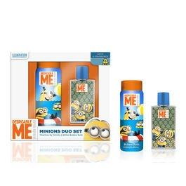 ref725-lic496-set-coffret-cadeau-beaute-minions-eau-de-toilette-bain-moussant