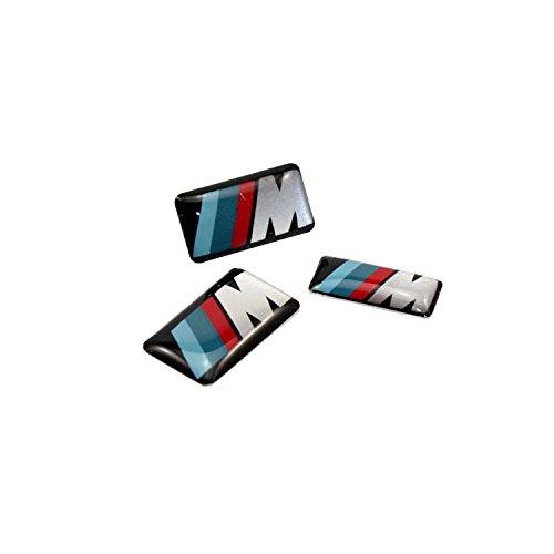 Fireman\'s 6pcs M Power Performance Badge Sticker Metal Decal For M3 M4 M5 M6