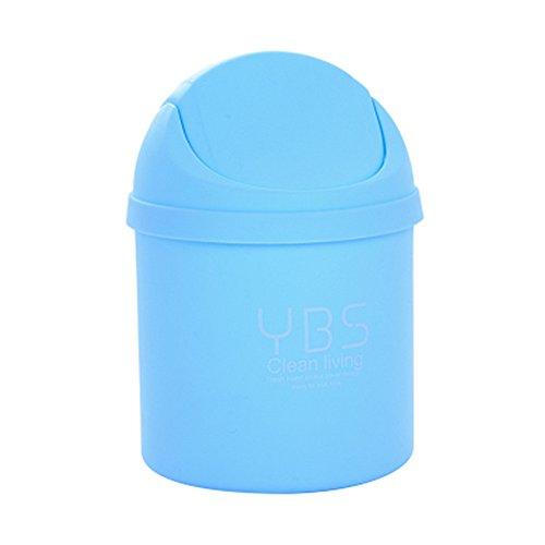 Cdet Mini basura creativa moda escritorio basura latas mini-sacudir hogar  sala de estar dormitorio 587e6c04ef0