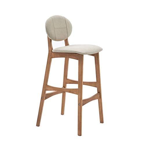 RMJAI Barhocker Barhocker mit Rückenlehne Geeignet für die Küche Familie Frühstück Home Cafe Bar Büro Mall Counter Height Swivel Seat Geeignet für Bistro-Caféhocker (Color : B) - Bar-height Bistro
