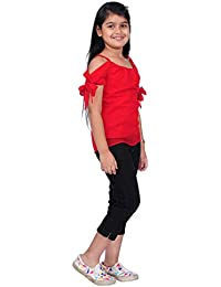 3388c7178cba60 JET AIMEMUMUM  S and Cute RED Georgette Fashion Summer Top for 1-17