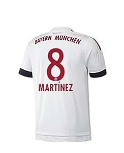 FC Bayern Away Trikot Herren 2016 - MARTINEZ 8, Größe:M