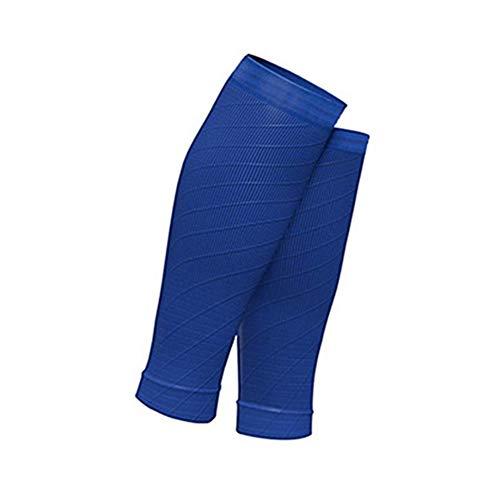Wongfon Compression Radfahren Beinlinge Fußball Schienbeinschutz Atmungsaktiv Laufen Beinhülse Leggings Basketball Kalb Ärmel Sport Sicherheit