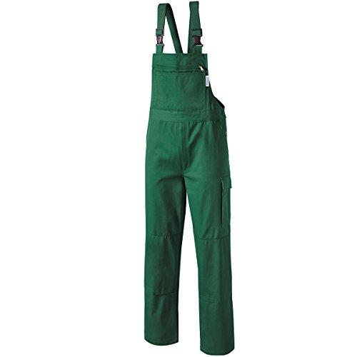 PIONIER WORKWEAR Herren Latzhose Cotton Pure in grün (Art.-Nr. 9493) grün,Größe 106