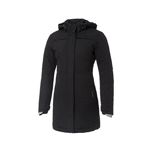Tucano Urbano Brigitte Barbet - traspirante, antivento e impermeabile 3/4 lunghezza giacca da donna imbottita, Nero, S