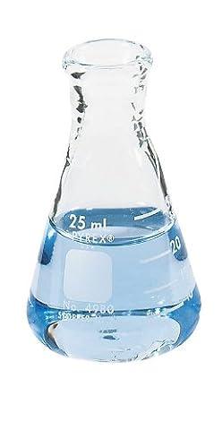 Pyrex 4980–1L Erlenmeyerkolben, Glas, 1l, Heavy Duty (Pack von 6) (Pyrex Erlenmeyerkolben)