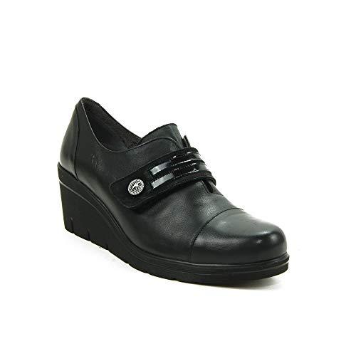 FLUCHOS - Zapato Casual para: Mujer Color: Negro Talla: 38