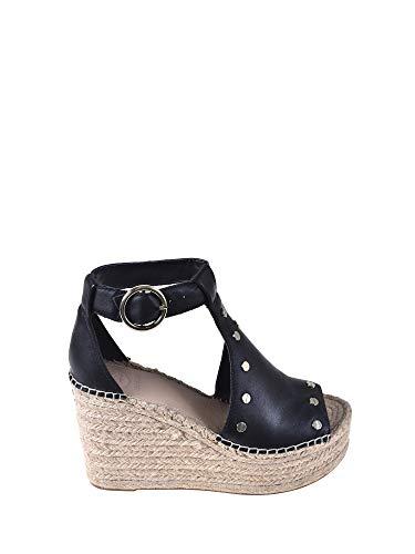Guess Karien Damen, Glattleder, high Heel Sandalette, 38 EU Guess High Heel Heels