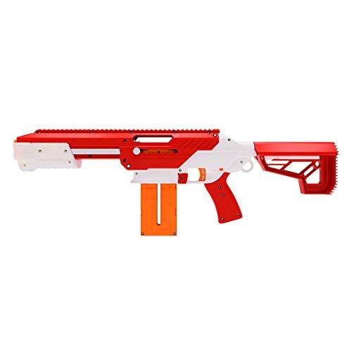 Jet Blaster 560642 - CEDA Dartblaster, Nerf-kompatibler Spielzeugblaster, Farbe: Rot -