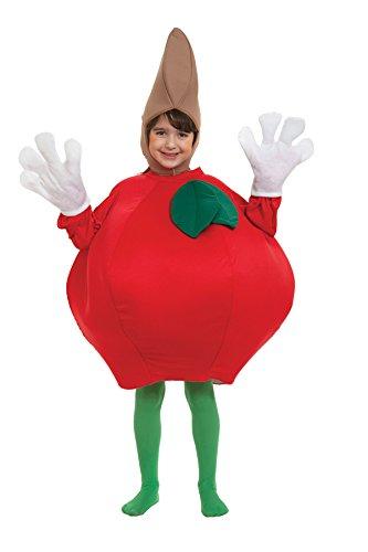 Peter Alan Inc. 9502CHPA-STD Childs Apple Costume Size Standard