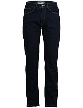 Jeans elasticizzati foderati in pile dark blue