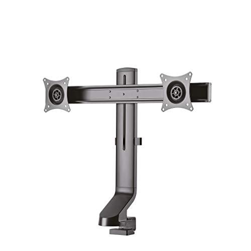 Newstar Monitor Tischhalterung Schwarz FPMA-D860DBLACK Doppel 10-27 14kg - Monitor Grommet Mount