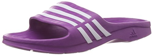 adidas Performance Duramo Sleek W G62576, Damen Dusch- & Badeschuhe, Violett (ULTRA PURPLE S12/WHITE/ULTRA PURPLE S12), EU 38  (UK 5)