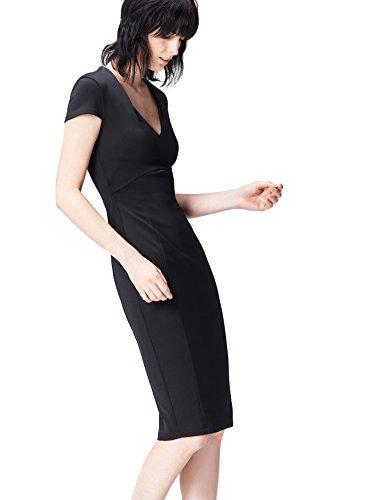 find. 13645 vestito da sera donna, Nero (Black), 42 (Taglia Produttore: Small)