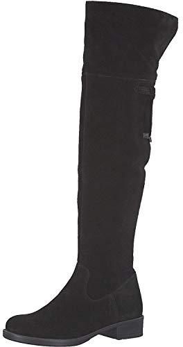 Tamaris Damen 1-1-25537-23 Overknees, Schwarz (Black 1), 37 EU