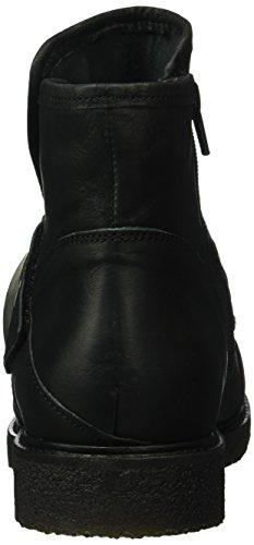 cashott - A16050, Stivali bassi con imbottitura leggera Donna Nero (Nero (Black 2001))