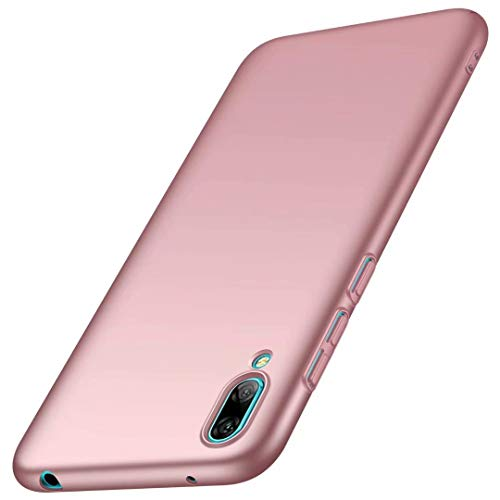 MYLB Nokia 3.1 Plus Custodia, Custodia per PC Ultrasottile, Custodia Rigida per PC per Nokia 3.1 Plus Custodia (Oro Rosa)