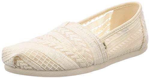 TOMS Damen 10013518 Espadrilles, Beige (Natural 000), 40 EU - Damen Toms Schuhe Spitze