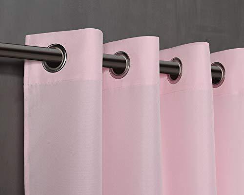 Pimpan tex tenda semi-translucida con 8ollao di 140x 260per soggiorno, camera e camera. modello oxford 140_x_260_cm rosa