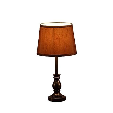 JIAHONG Rétro lampe de table LED résine LED, chambre d