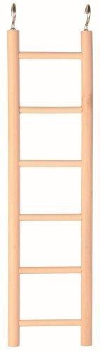 Trixie scaletta di legno con sei tappeti, 28cm