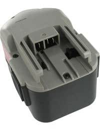 Batterie pour MILWAUKEE 0612-22, 14.4V, 3000mAh, Ni-MH