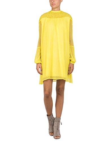 REPLAY W9464 .000.83036f, Vestido Mujer, Amarillo (Lemon Yellow 740), Small