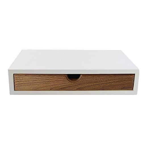 Badezimmer Eitelkeiten Schubladen (LIXMZZWJ Büro-Desktop-Computer-Regal, aus Holz mit Schublade freistehende Aufbewahrungsbox A4-Datei-Organizer-Rack für im Badezimmer Home Schreibtisch Bücherregal Regale (größe : A3 21x35.5x7.5))