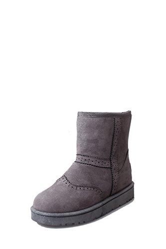 SQIAO-X- Fondo piatto antiscivolo Stivali Stivali di cotone Winter Snow Boots piana spessa, avvio a caldo Argento