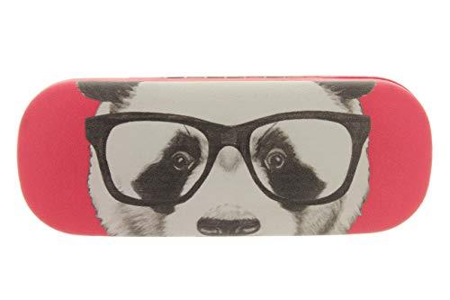 MIK Funshopping Brillenetui Panda Hipster Nerd 16 cm (Pink)