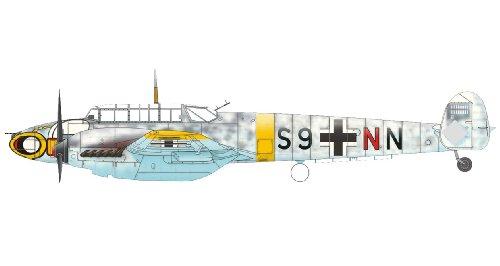 Eduard Plastic Kits 7419 - Flugzeug Bf 110E Weekend