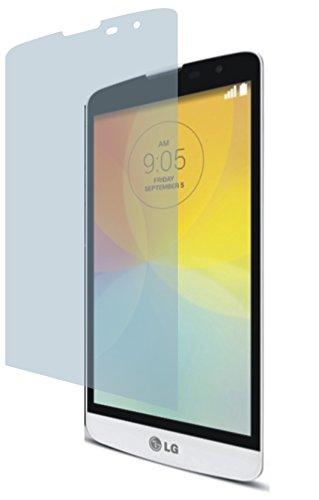 4ProTec LG L Bello (2 Stück) Premium Bildschirmschutzfolie Displayschutzfolie kristallklar Schutzhülle Bildschirmschutz Bildschirmfolie Folie