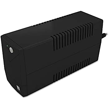 iBall Nirantar UPS 622 - Uninterrupted Power Supply to Your Personal Computers, Home Entertainment Network and Gaming Consoles, Black
