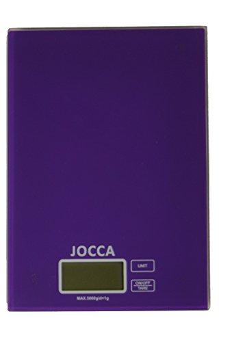 JOCCA Küchenwaage 7154M, Violett