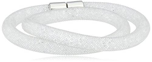 swarovski-5089840-bracciale-con-vetro-donna-bianco-40-centimeters