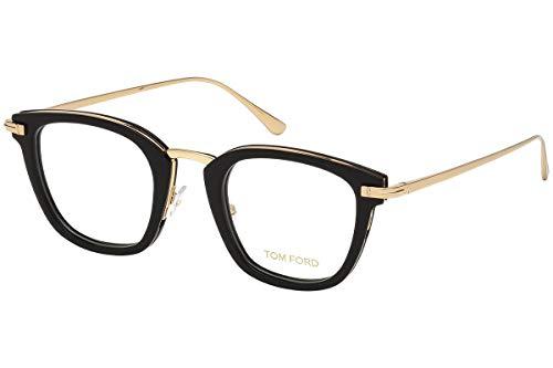 Preisvergleich Produktbild Tom Ford FT5496 Brillen 47-23-145 Schwarz Mit Demonstrationsgläsern 001 TF5496 FT 5496 TF 5496