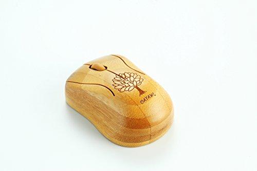 Bambus Maus Mäuse drahtlose optische Maus Gesunde speichelfeste strahlenabweisend Kabellose Maus Computer Geschenk