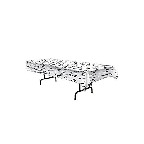 Noten Tischdecke