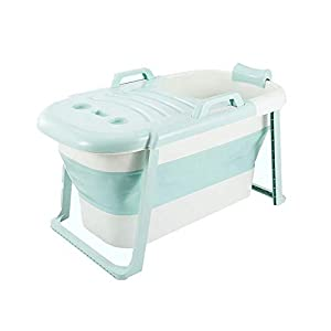 XUELIANG Adult Bathtub Portable Collapsible Bathtub, Baby Child Bathtub, Household Large Tub Folding Shower Tray, Comfortable Folding Adult Bathtub 4