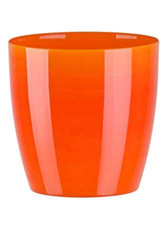 flower-pots-imitation-marble-6-colours-3-sizes-gloss-plastic-plant-pots-planter-18-cm-yelow-orange-m
