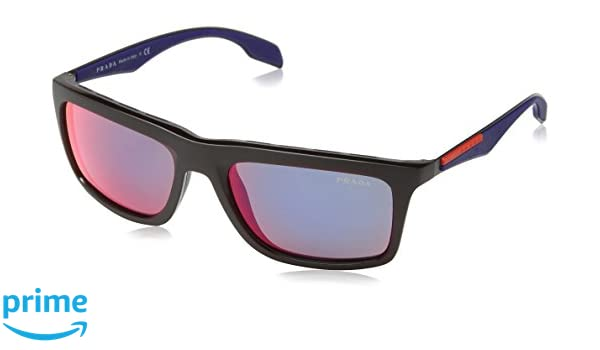 Prada Sport Sonnenbrille 02ps Sun_sl89q1 (57 Mm) Bordeaux Demi Shiny, 57