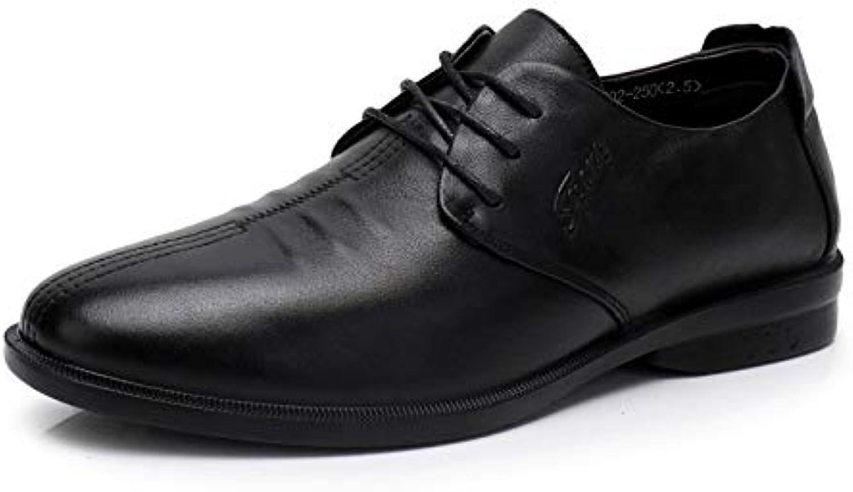 Zapatos De Vestir De Hombre De Negocios Zapatos De Moda con Cordones Simples Classic