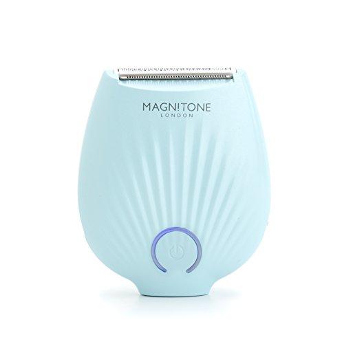 Magnitone London Rechargeable Mini Travel Lady Shaver - Womens Electric Razor, Aqua