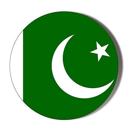 Kühlschrankmagnet, Motiv: Insanity Pakistan Flagge, 45 mm