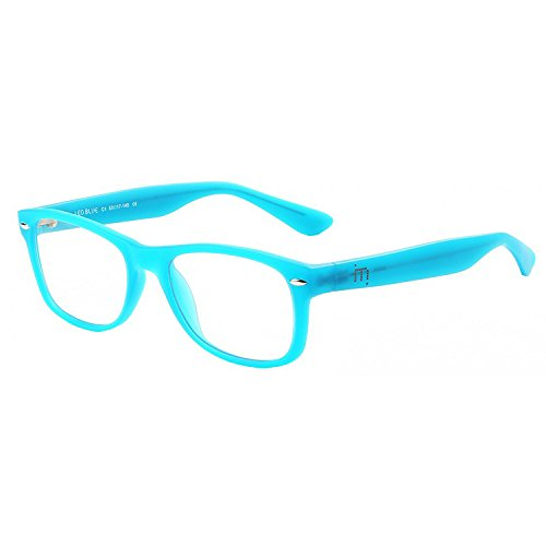 5b293266829a23 Bluefree Leo - (Hellblau) Lesebrille mit Blaulichtfilter (+2.00)