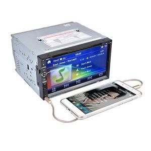 SLB Works Brand New 7in 2Din 800 * 480 Car Stereo Radio DVD Player USB Bluetooth FM EW