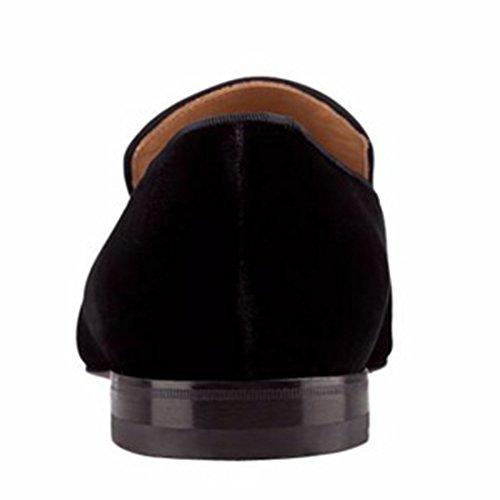 Coucou Slip On Chaussures Oxford Chaussures Habillées Mocassins Homme Noir Noir